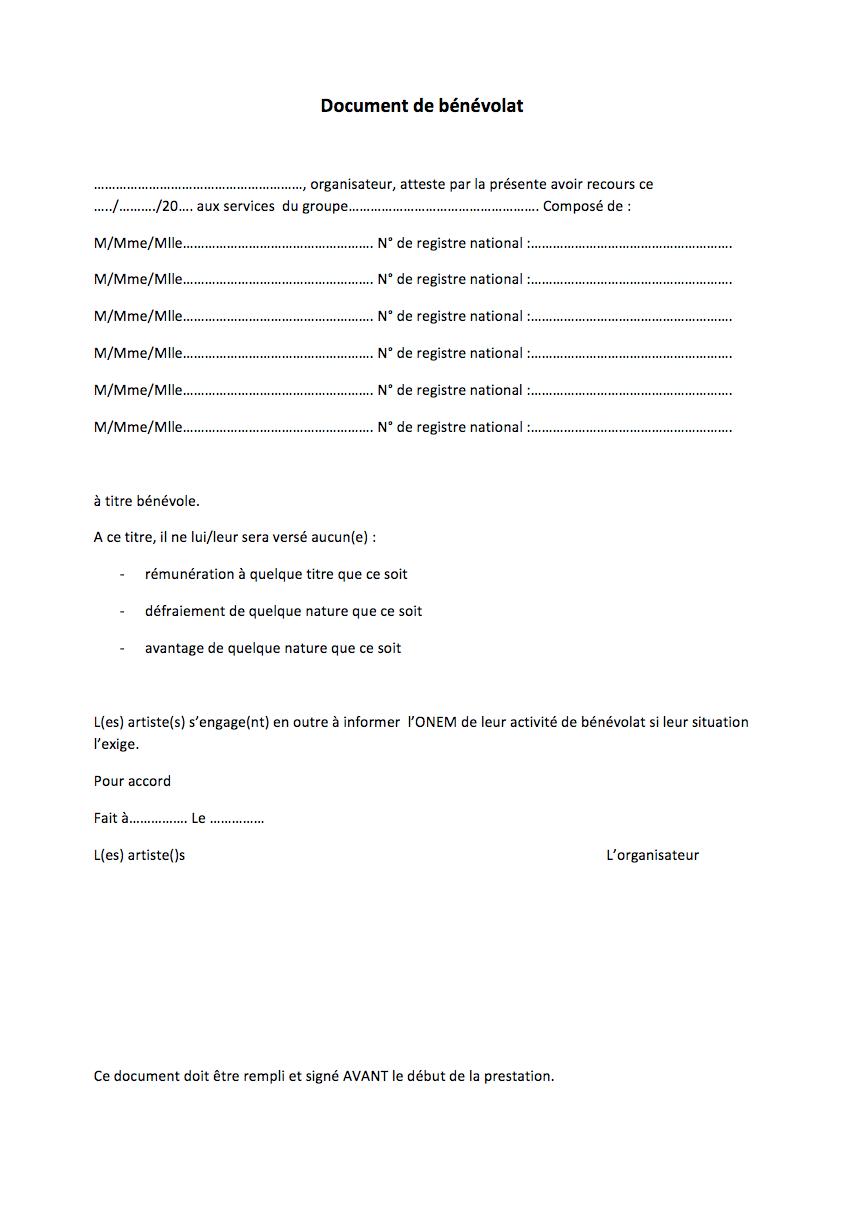 modele contrat de travail artiste document online On contrat de prestation artistique