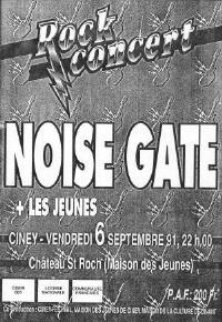 noise gate affiche 91